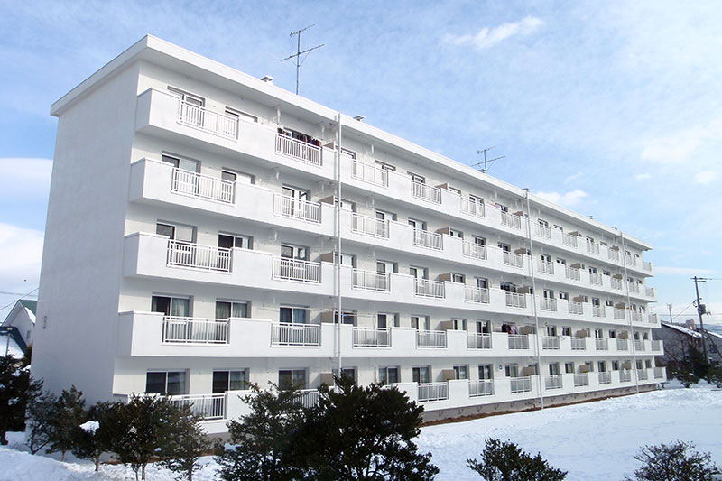 青山住宅(第五地区)ほか4住宅外壁改修その他工事