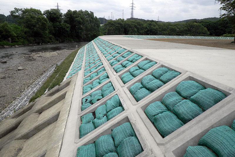 松川新田地区河川災害復旧工事