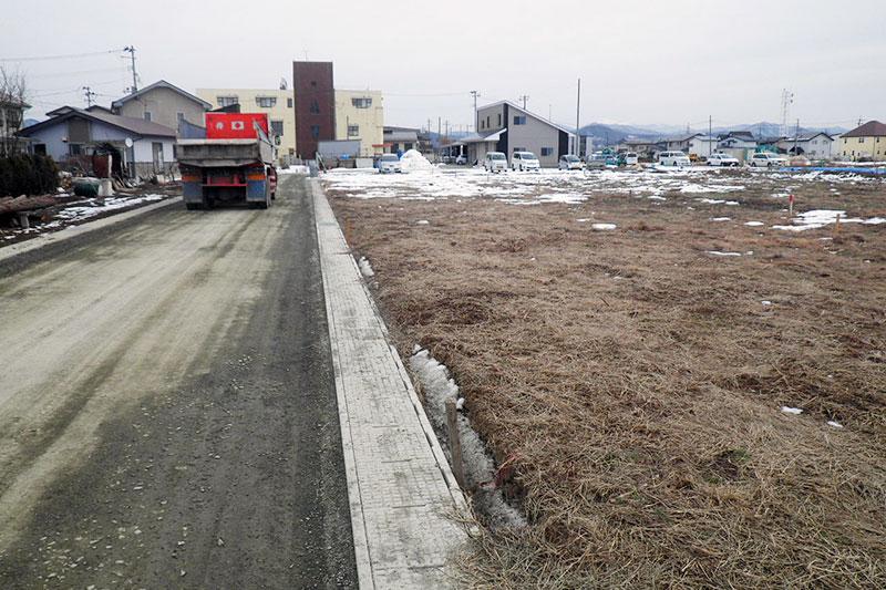 中太田新田榊線街路築造及び宅地造成等工事