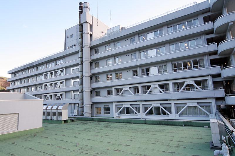 岩手県立釜石病院 耐震改修工事