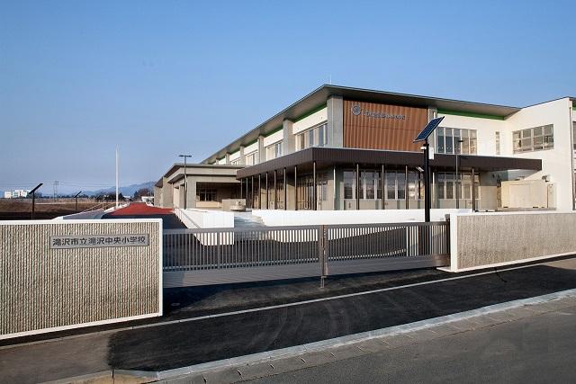 滝沢市立中央小学校新築工事